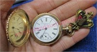 June 2 Online Auction: Pocket Watches - Gold Jewelry - Art