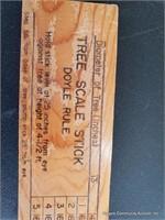 Dole Rule (Tree Scale Stick)