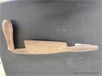 Primitive Draw Knife-marked