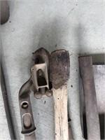 Primitive Shovel, Handles & Ladle