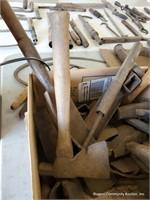 Box Of Assorted Primitive Tools