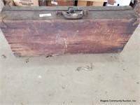 Wooden Suit Case