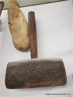 2 Mallots & Wood