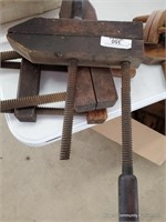 3 Wooden Clamps