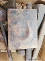 Box Of Molds & Mallots