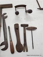 Primitive Draw Knife & Hand Tools