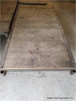 Wooden Lumber Cart