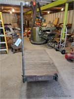 Wooden Lumber Cart