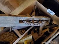 Wooden Handles & Assorted Tools