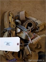 Straps, Climbing Harness, Logging Boots & Misc.