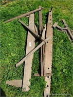 Wooden Buggy Pieces