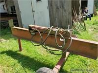 Homemade Hydraulic Log Splitter