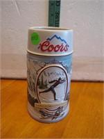 1991 Coors Beer Stein