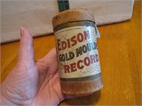Antique Edison Gold Moulded Record