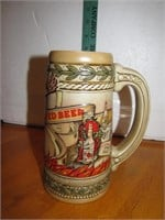 Vintage Stroh's Fire Brewed Beer Stein