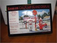 Snap On Gas Pump Island Display
