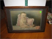 """Antique Print Called """"The Family Hope"""""""