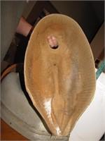 6 Vtg Paper Mache Goose Decoy Bodies (no heads)