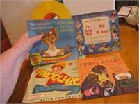 4 Vintage Child's 45 Records