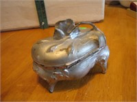 """Antique Jewelry Casket 6"""" x 4&1/4"""" x 3&3/4"""""""