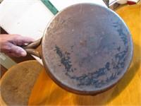 """Antique Steel CowBoy Skillet 12&1/2"""""""