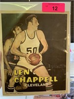 LEN CHAPPELL CLEVELAND POSTER