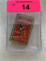 1930'S ALL AMERICAN SAFETY MATCH BOX