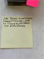 LOT OF VTG JAMES BOND MOONRAKER CARDS