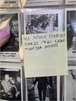 1961 40 SPOOK STORIES LEAF MONSTER MOVIES