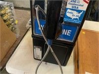 VINTAGE PAY PHONE (NO KEY)