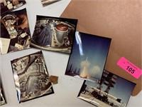 LARGE LOT OF VTG NASA PHOTOS