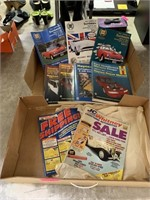 LOT OF MISC CAR REPAIR MANUALS MORE