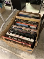LOT OF MISC BOOKS / COFFEE TABLE BOOKS MORE