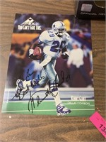 SIGNED KENNY GANT DALLAS COWBOYS PICTURE