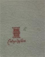 LARGE VTG ADAMS CALYX WARE PLATE/ PLATTER