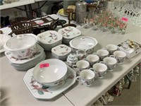 LARGE LOT OF MIKASA DISHES