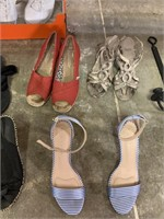 LARGE LOT OF SHOES (SIZE 6 AND 7)