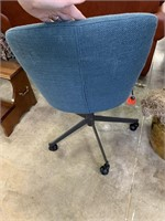 WEST ELM ROLLING OFFICE CHAIR