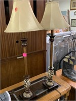 2PC TABLE LAMPS