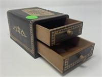 VTG JAPANESE CARD BOX