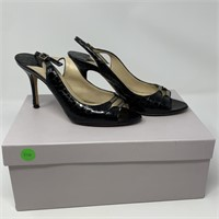 JIMMY CHOO HEELS / OPEN TOE SHOES 35 1/2