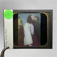 ANTIQUE MAGIC LANTERN RELIGIOUS SLIDE