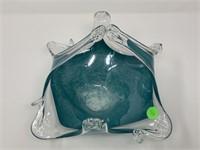 MURANO ART GLASS STYLE BASKET