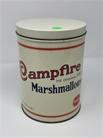VTG BORDEN RETRO REPRO CAMPFIRE MARSHMALLOW TIN