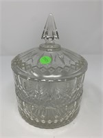 2 TIERED VTG CANDY DISH