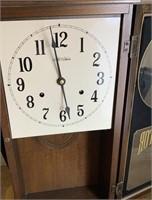 VTG NEW HAVEN REGULATOR WALL CLOCK SEE NOTES