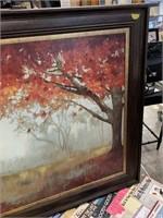 LARGE FRAMED WALL ART
