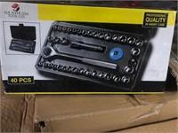NEW 40 PC SOCKET SET 10X TIMES BID