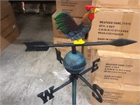 CAST IRON ROOSTER WEATHERVANE