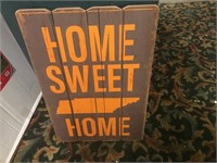 HOME SWEET HOME TN WOODEN SIGN